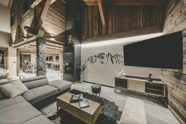 The Whymper - Luxury chalet 5 * SPA Sauna Chatel