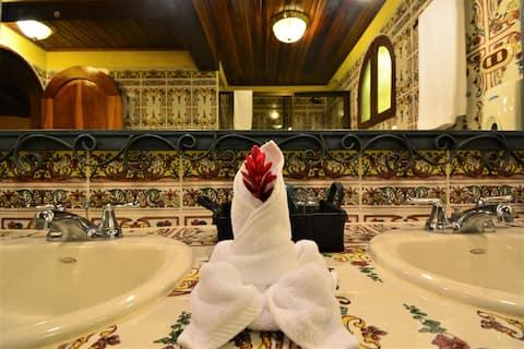 豪華酒店物業上的私人平房