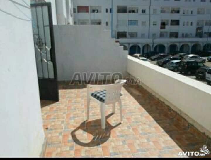 Appart avec terrasse et wifi