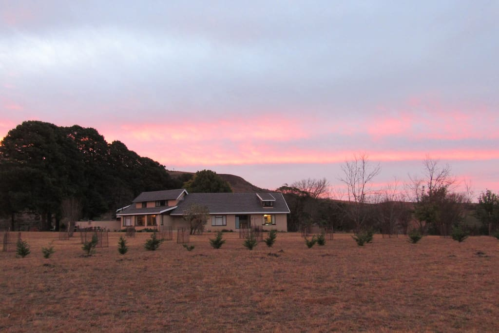 Sunset at Orchard Manor