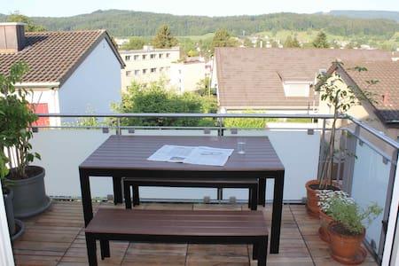 Stadtnahes und sonniges Zimmer in Urdorf (ZH)