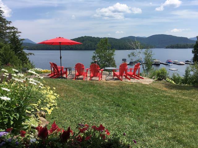 LAKESIDE condo w/STUNNING VIEWS & overlook patio