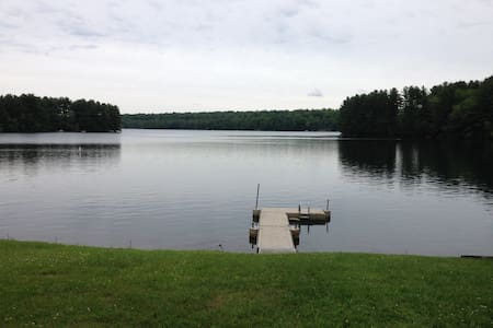 Charming Lake Front Property-Ski nearby - Goshen