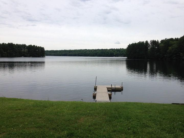 Charming Lake Property,  minutes from Mohawk Ski
