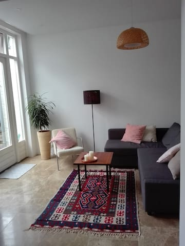 Canal house apartment