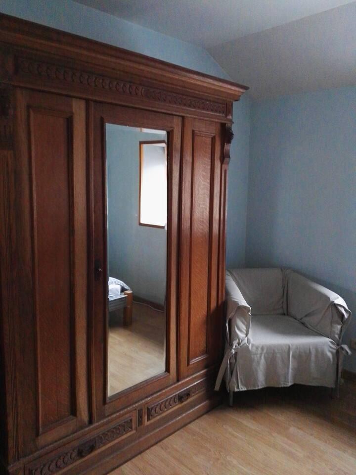 Lire et dormir à l'espace insolite 50 €/chambre