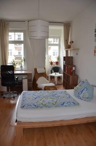 Gemütliches Zimmer mit zentr. Lage - Erfurt - Bed & Breakfast