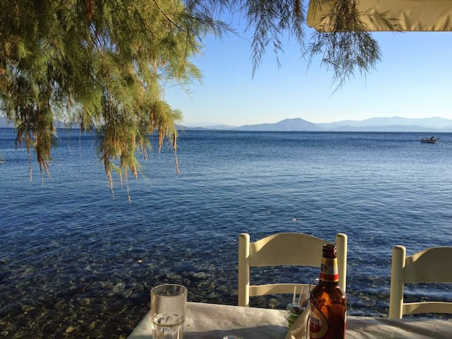 Armonia. Cozy flat 30m from the sea - Volos - Apartamento