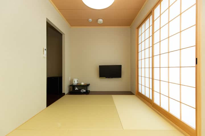 New Open! Japanese style single room