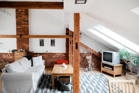 Stylový byt v centru Brna s terasou