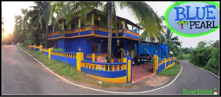 BLUE PEARL Located @ Beautiful Divar Island