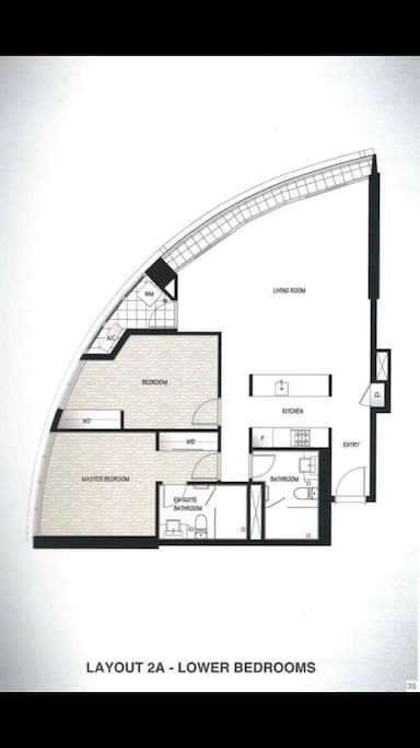 Modern layout