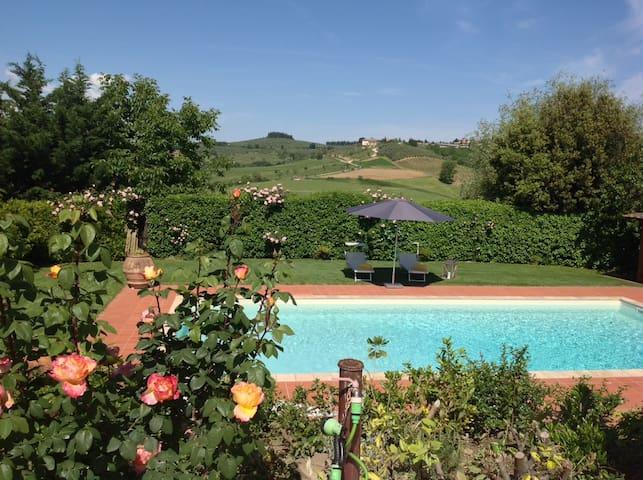 Villa w/pool btw Florence & Siena - Tignano - Vila