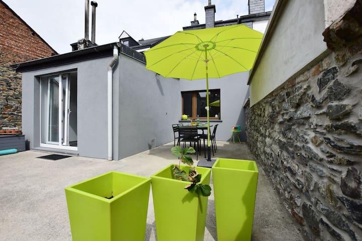 Maison de vacances paisible idéalement située au centre de Bastogne