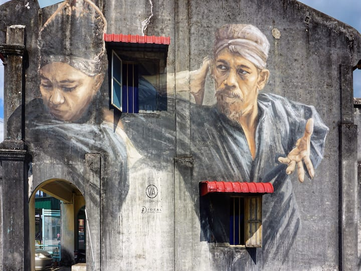 the silat mural