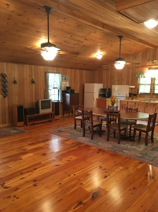 Heart Pine Floors