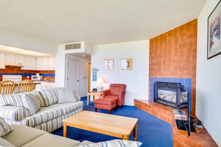 First-floor, family-friendly, oceanfront escape mere steps from the beach!