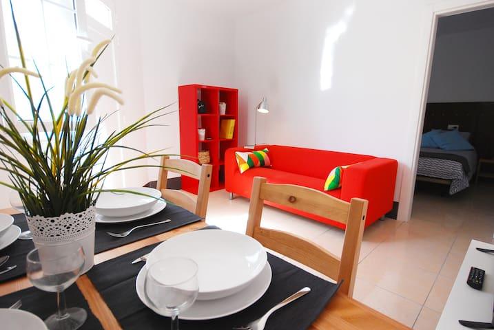 Little corner apartment close to promenade - Arinaga