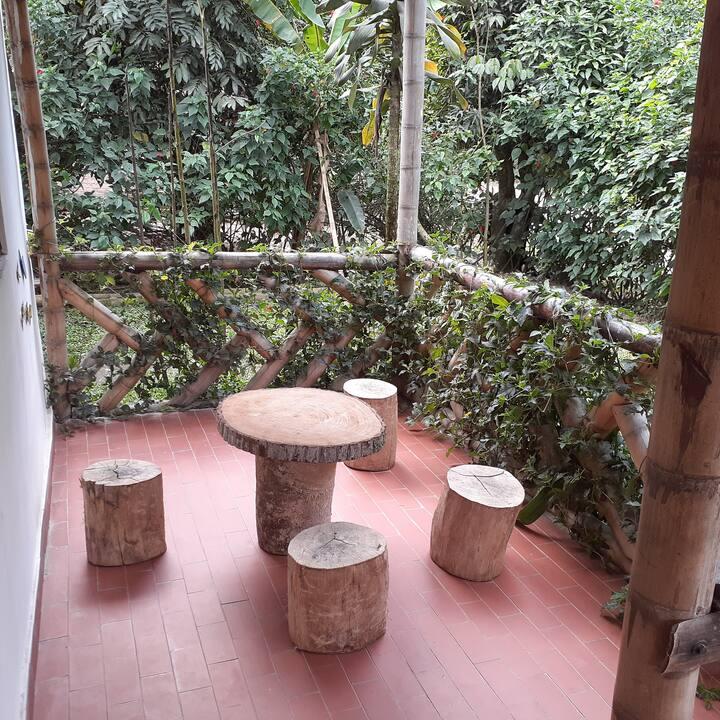 Cabaña Rural para descanso y Caminata Ecologica