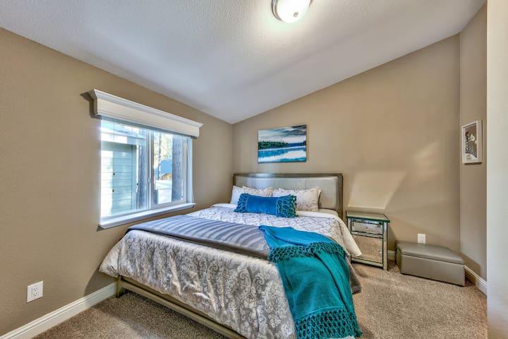 Upper Floor Master Bedroom with King Size Bed