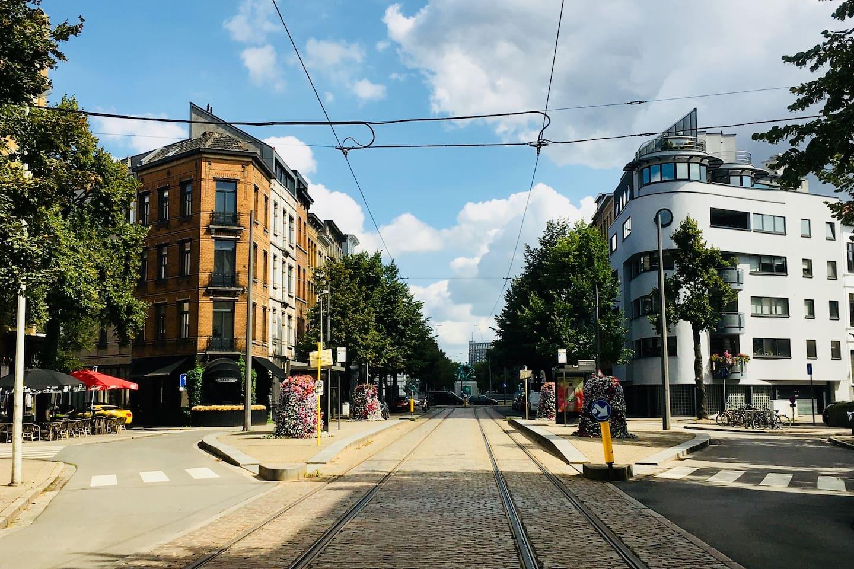 Tram4 voor de deur