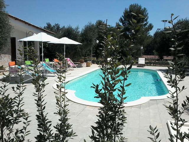 Le Crie Sun Holiday Flat and Pool - Muro leccese - Holiday home