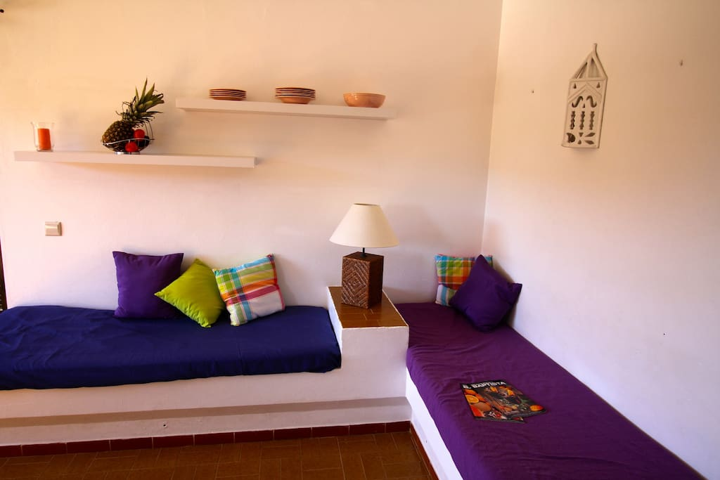 Cosy Algarvian style couches