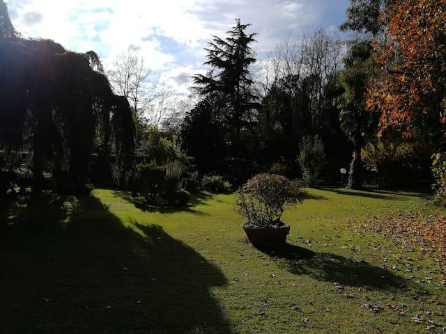 Villa immersa nel verde recentemente ristrutturata