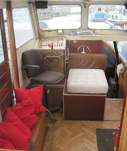 Quaint boat in Amsterdam North - Amsterdam - Boat