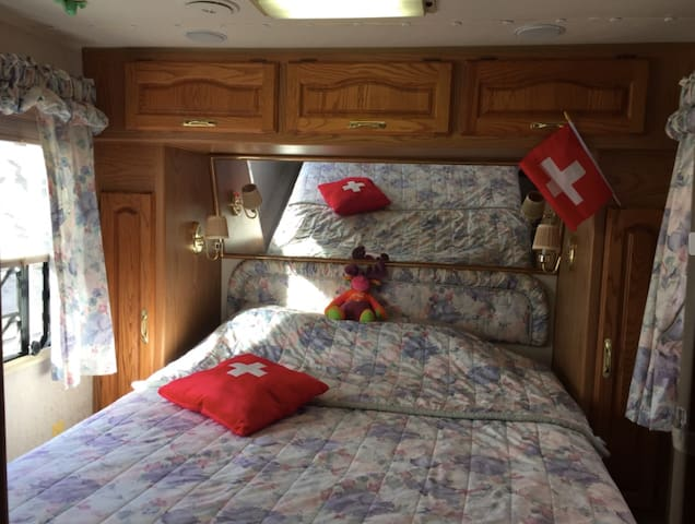 Desert Home, cozy, comfortable, private - Topock - รถบ้าน/รถ RV