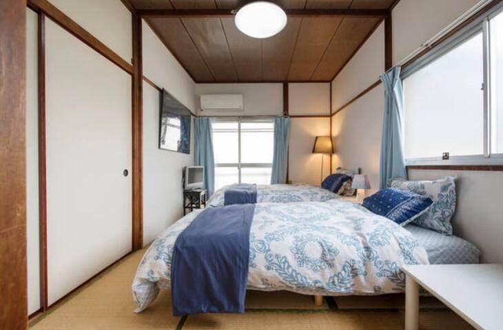 Cozy Tatami room/Easy access to Shibuya,Shinjuku