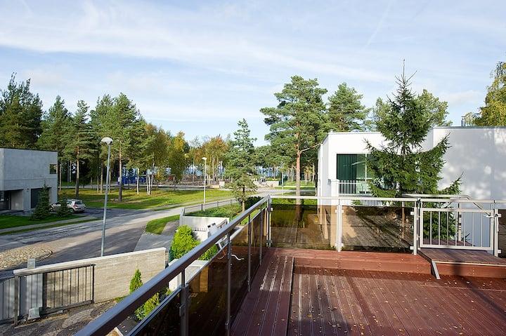 Частная вилла c бассейном и зоной спа в Таллинне