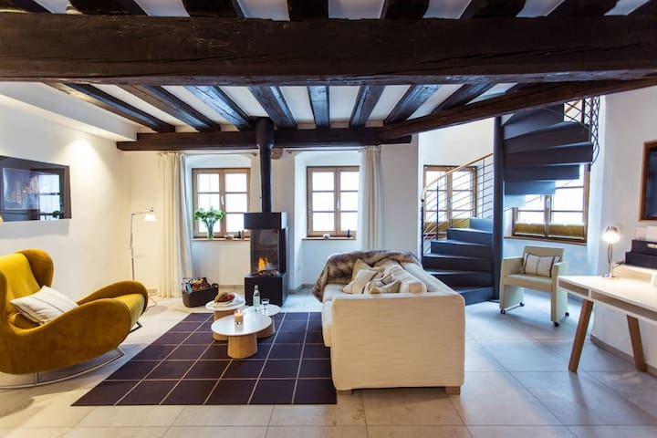 """Tencalla"" Maisonette - Suite in den Passau Suites"