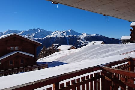 The perfect apartment for your ski holiday - Chandolin - Appartement