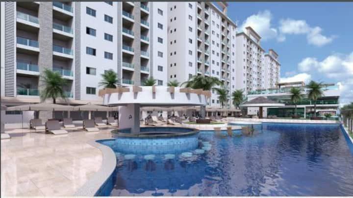 Excelente Resort em Salinas 2 quartos (8 pessoas)