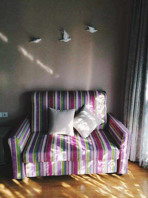 品牌沙发床,非杂牌。