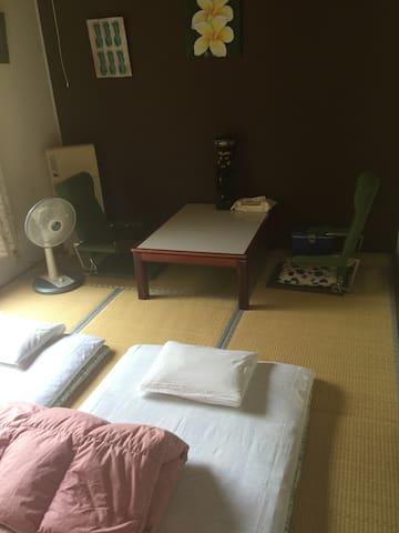 TATADO beach MINEHOUSE tatami room
