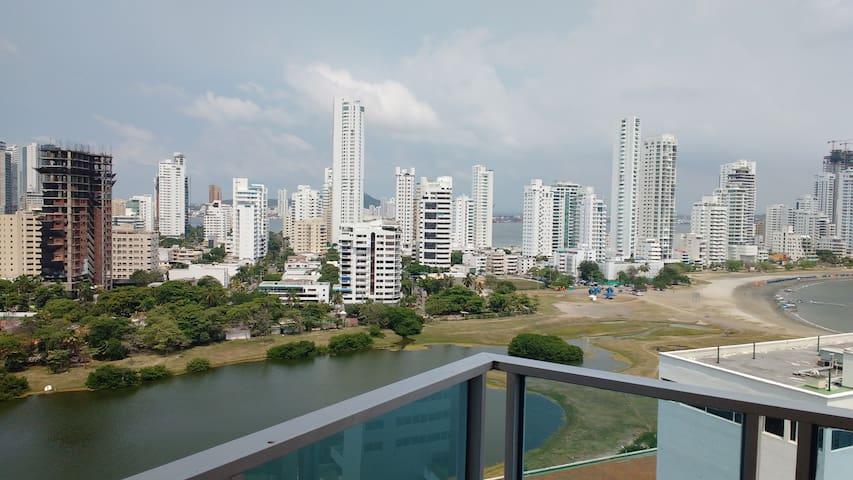 Vista desde el Balcón a la Ciudad