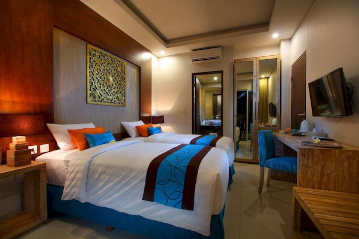 Seminyak Boutique Hotel - Twin Deluxe Room
