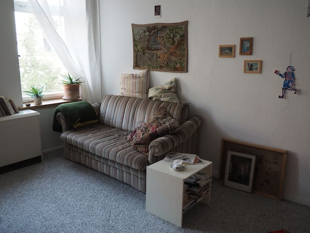 Cozy student flat for 1-3 pers in the northeast