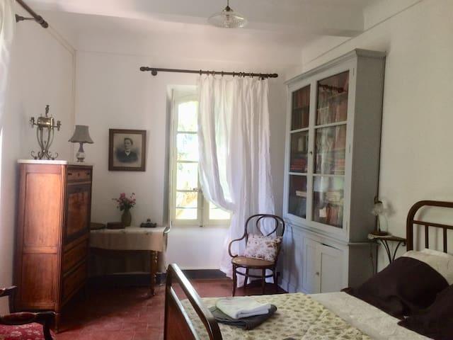 Chambre dans Maison Cévenole proche d'Anduze -