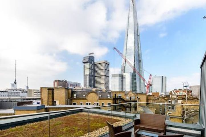 3 bed 2 bath BIG Central LONDON flat near SHARD!