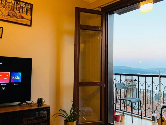 Sunny, comfortable, full sea view apartment