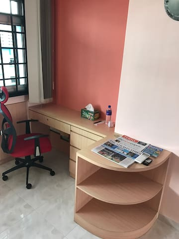 Newly furnished spacious room