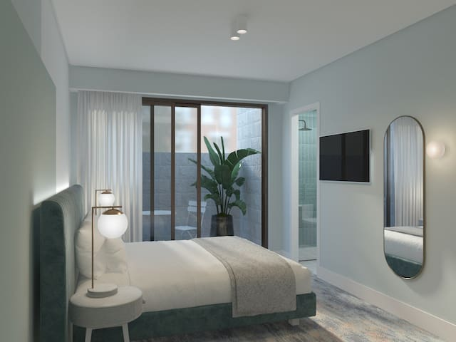 The Albert Mosman - Accessible King Bed Room