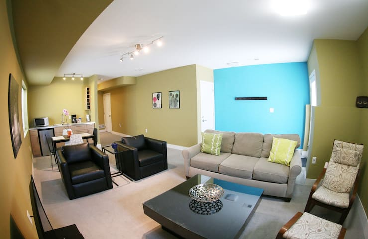 Clean Modern 1 BDRM Apt, sleeps 4 in LoHi