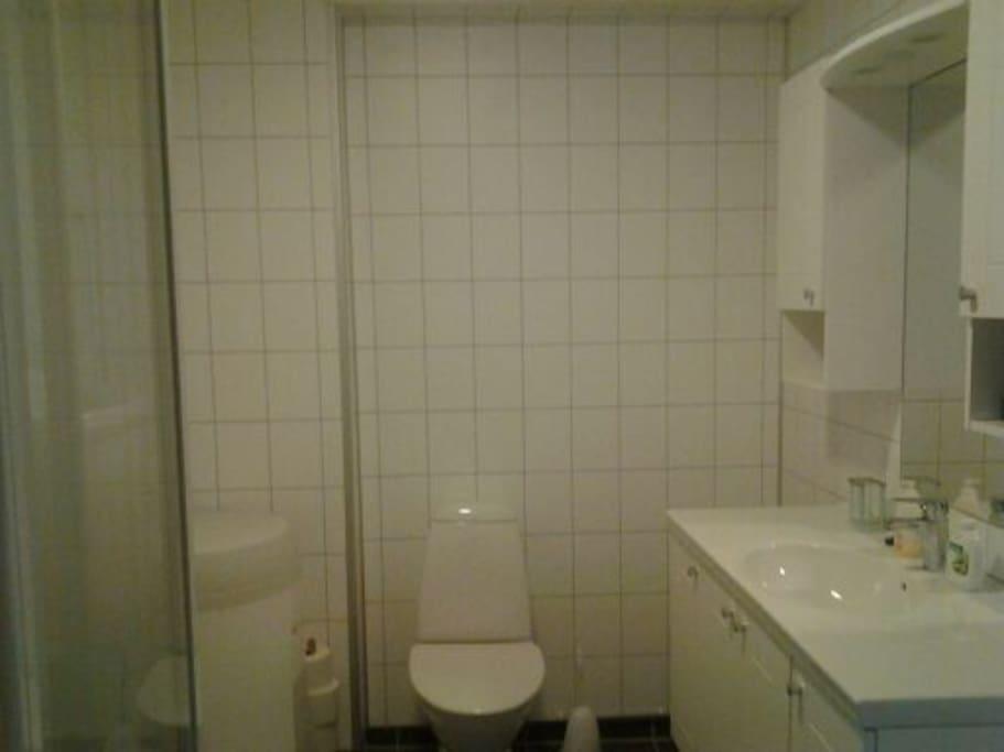 Private bathroom - 2nd floor.
