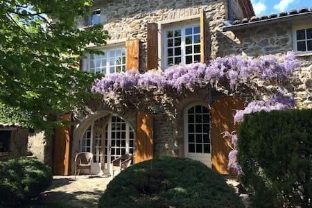 Maison Nord Ardèche 6 pers. au calme tout confort - Saint-Barthélémy-le-Plain - Hus