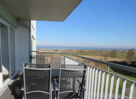 Meerblick & Sandstrand - Apartment für 4 Personen