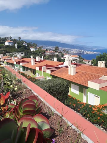 Extraordinaria ubicación en el norte de la isla a 13 km del Puerto de La Cruz y 9 de La Orotava.